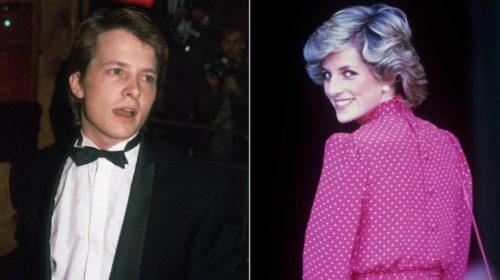 Michael J. Foxnak van egy ciki sztorija Diana hercegnével