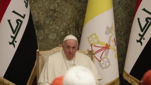 Sok ima és elmélkedés után döntött az iraki út mellett Ferenc pápa