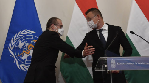 Dicséri a WHO a magyar oltási stratégiát